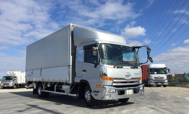 4tトラックウィング車|輸出入貨物の輸送は有限会社ミナミ