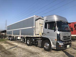 積載量20400kgのウィングトレーラー増車しました